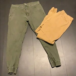 men's joggers bundle size 34